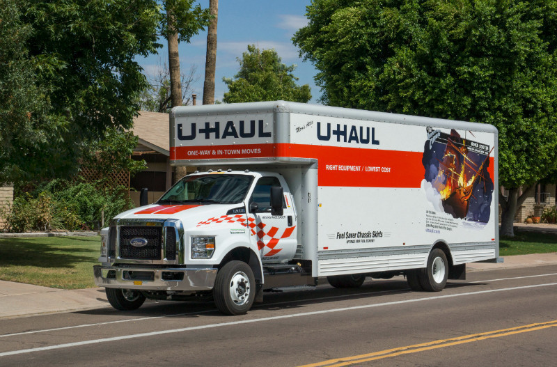 if i do round trip it still is pricier than U-Haul at ~$60/day + $/mi. note: this is for the smallest box truck, the 12ft Econo Van. looks like U-Haul is charging $ all in for a pickup truck. this includes 12 hours moving time and ~mi.