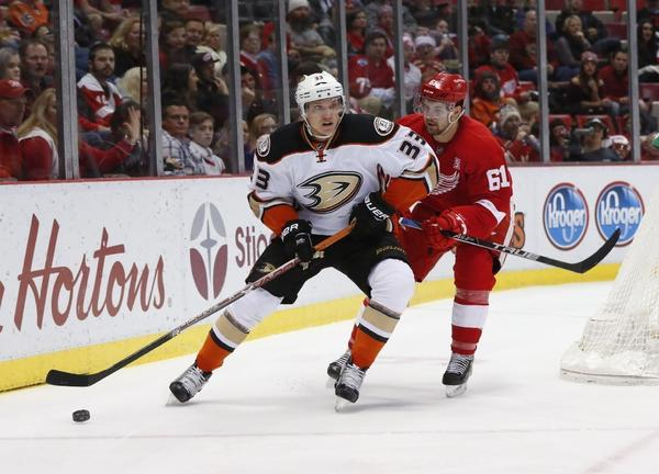 Ducks' Jakob Silfverberg Back On The Ice, But Not Quite Ready To Return