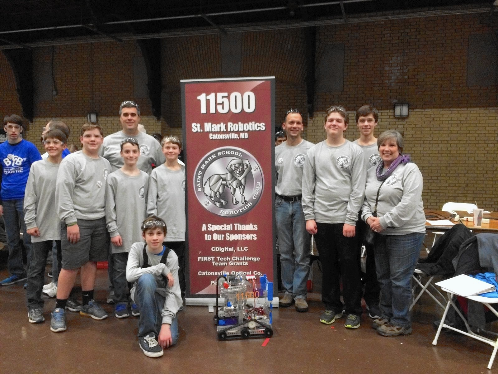 Rookie Team From Catonsville Finishes In Top 10 At Robotics