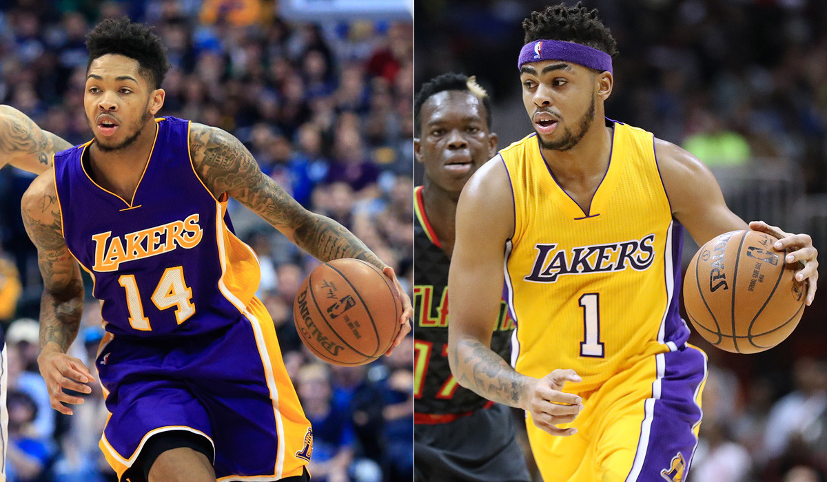 Lakers' Brandon Ingram and D'Angelo Russell chosen for NBA's Rising Stars Challenge