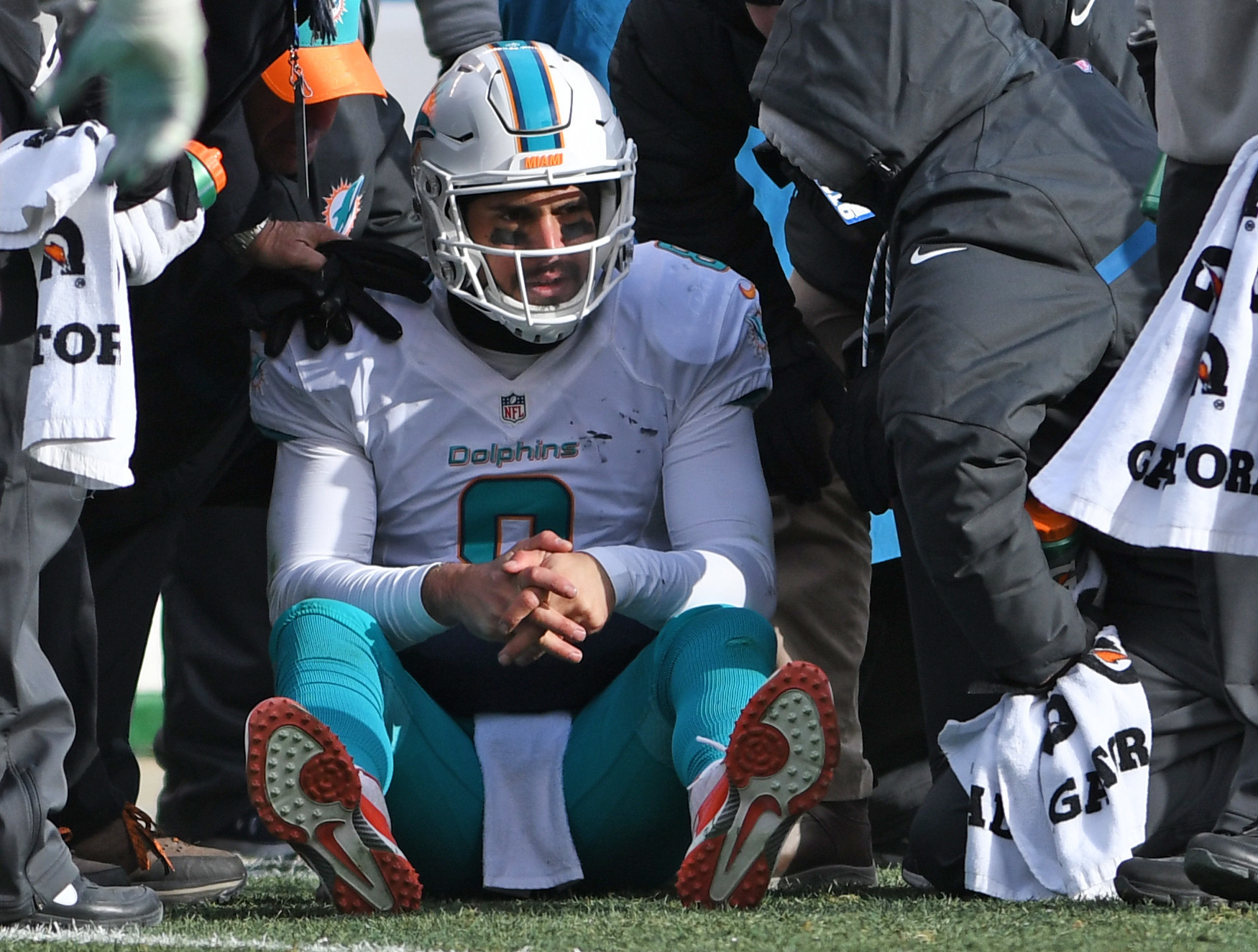 Dolphins issued warning regarding handling of concussion protocol for Matt Moore