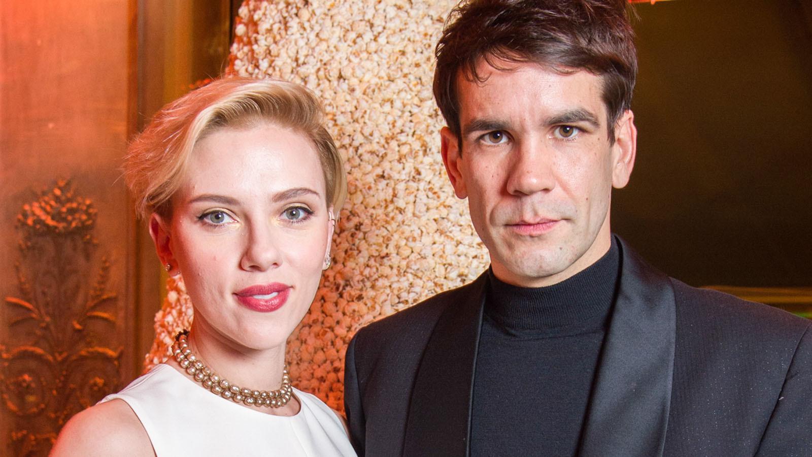 Scarlett Johansson And Husband Romain Dauriac Have