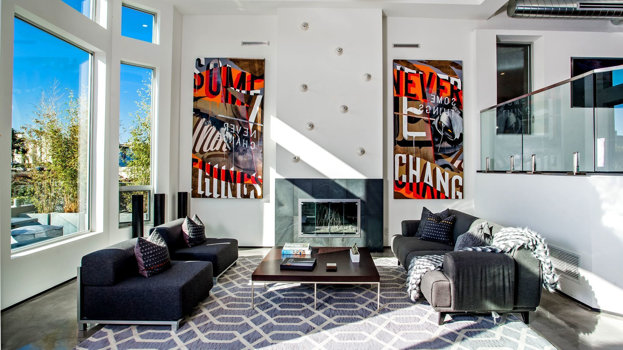 fireplace upgrades focus on cool as well as on heat la times