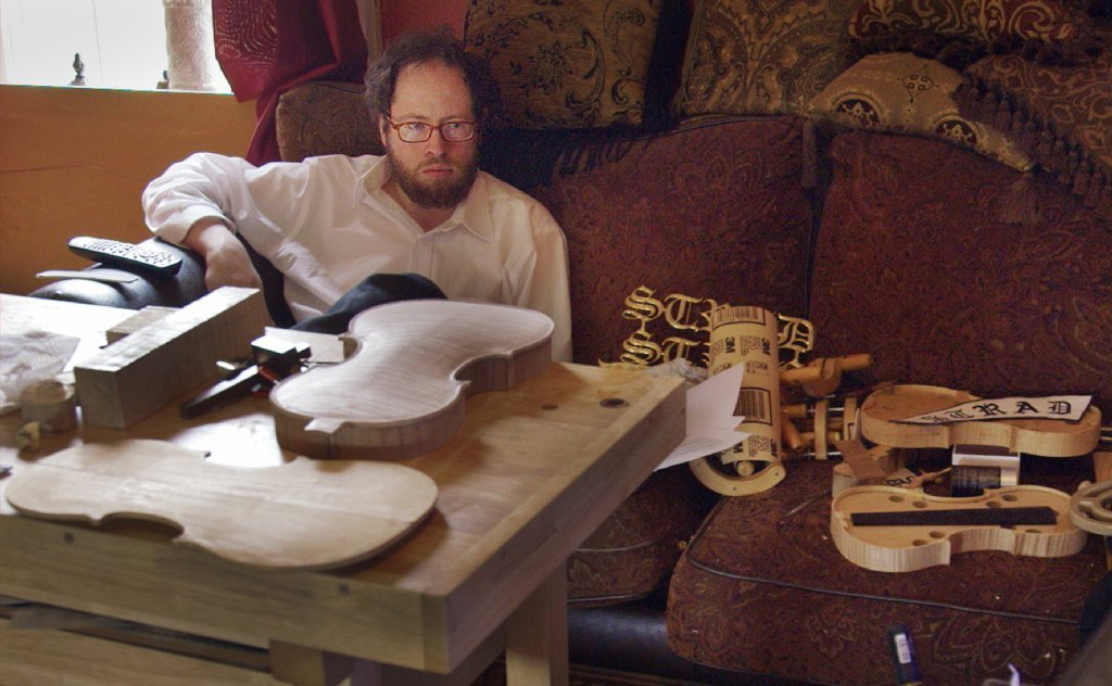 "A scene from the documentary feature ""Strad Style,"" directed by Stefan Avalos. (Slamdance)"