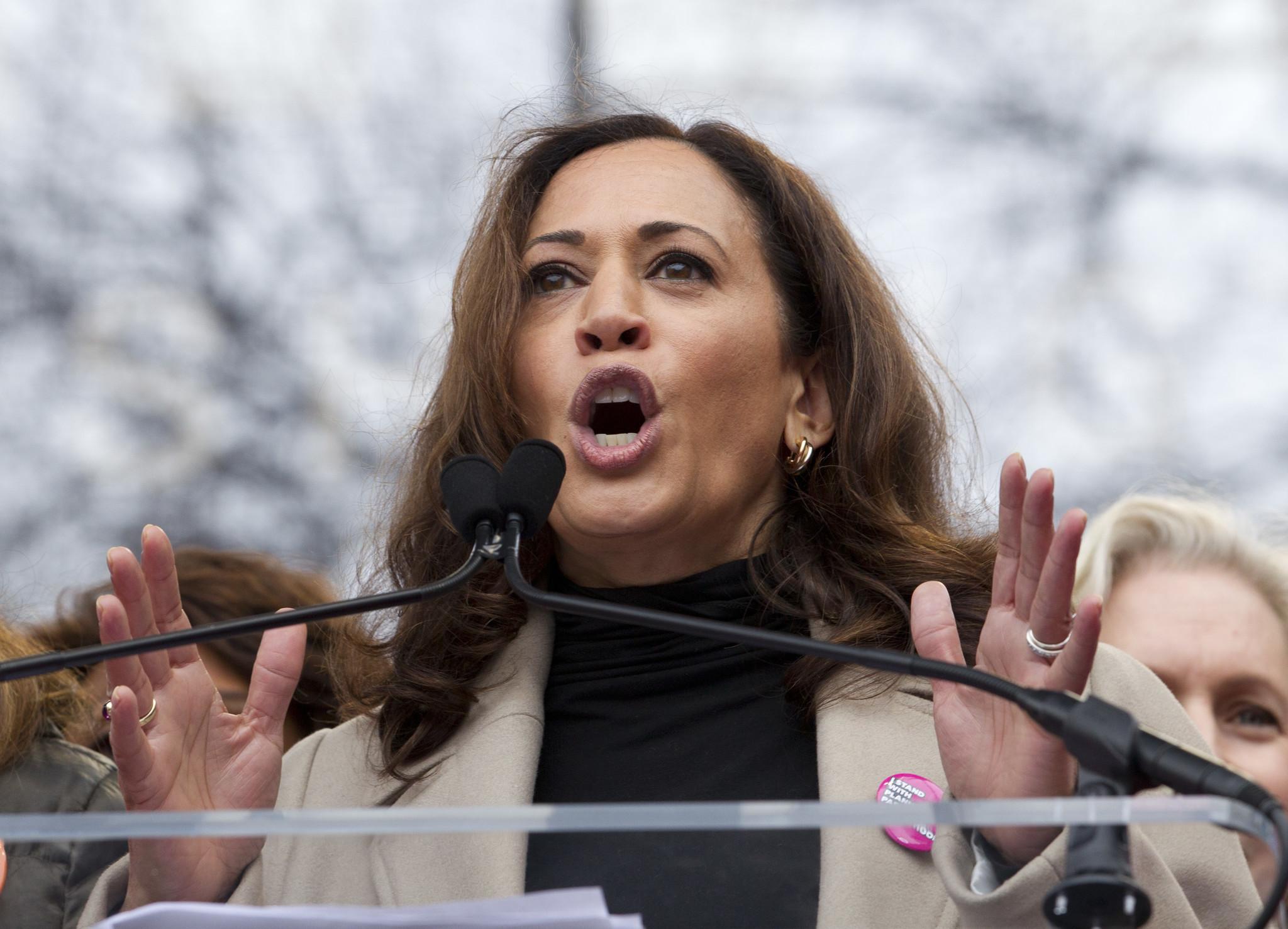 U.S. Sen. Kamala Harris. (Jose Luis Magana / Associated Press)