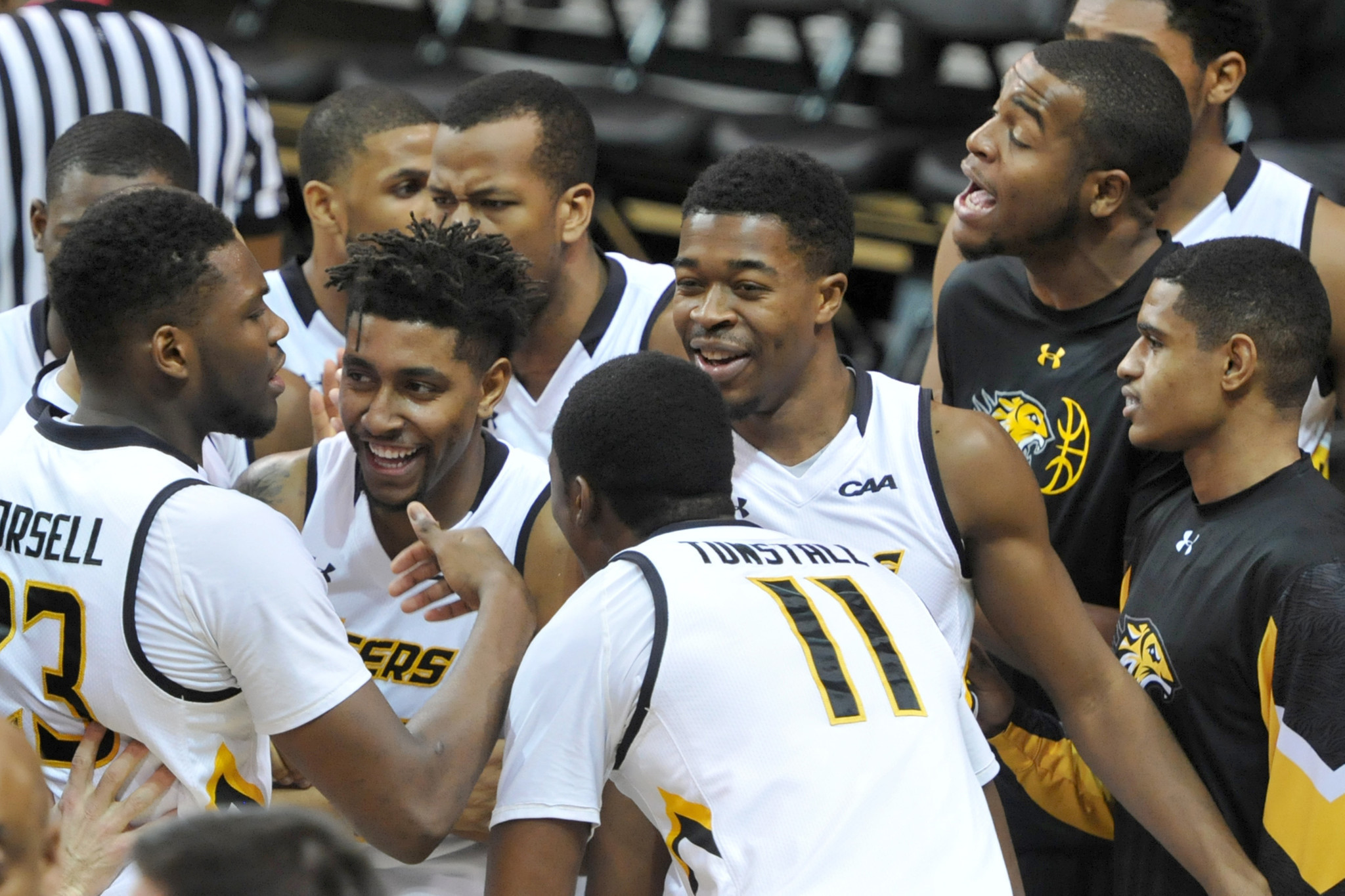 Towson surges back into CAA race with fifth straight win ...