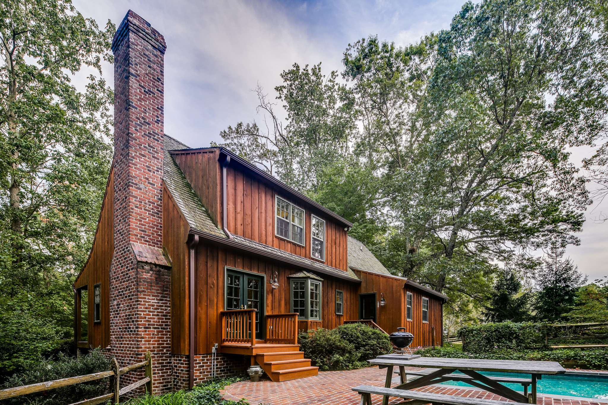 Wood Sided Cape Cod In Sparks For Sale For Nearly 525 000