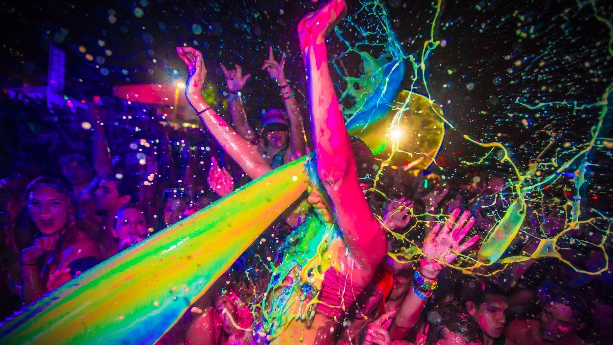 Life In Color Paint Party Video