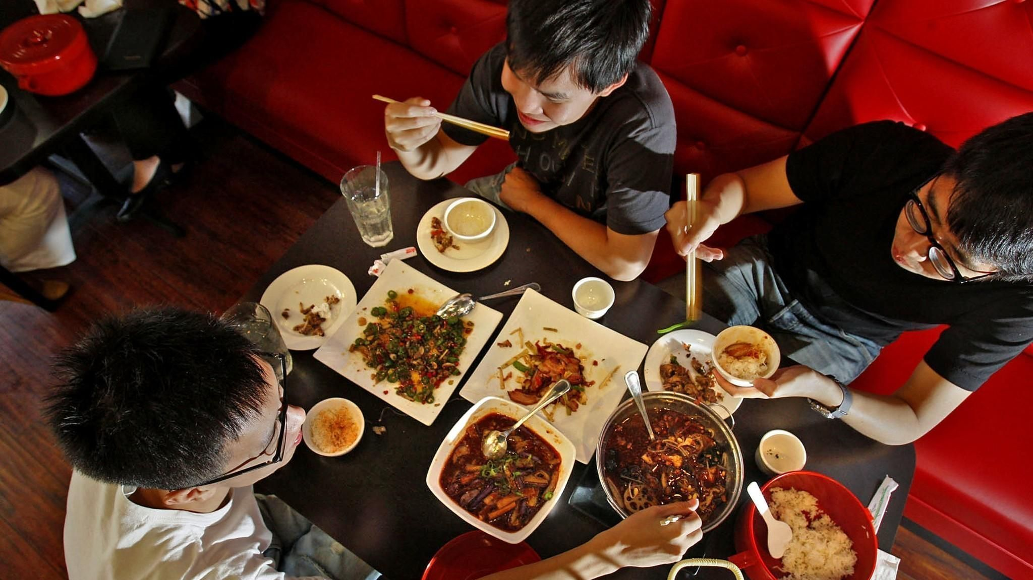 happy chinese new year restaurants for noodles dumplings