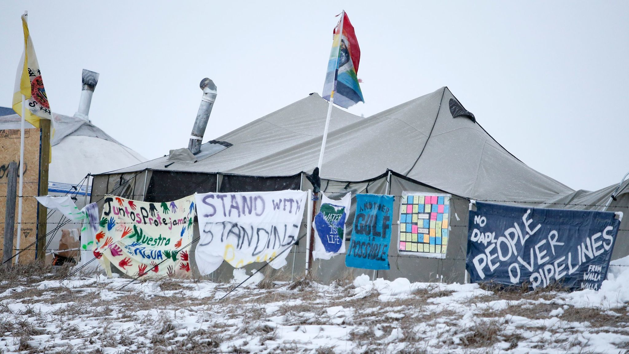 Army Corps to shut down Dakota Access protest camp — but activists vow to keep up resistance