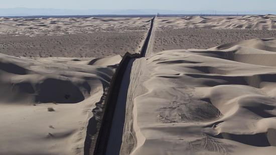 Air tour of U.S. border from Arizona to the Pacific Ocean