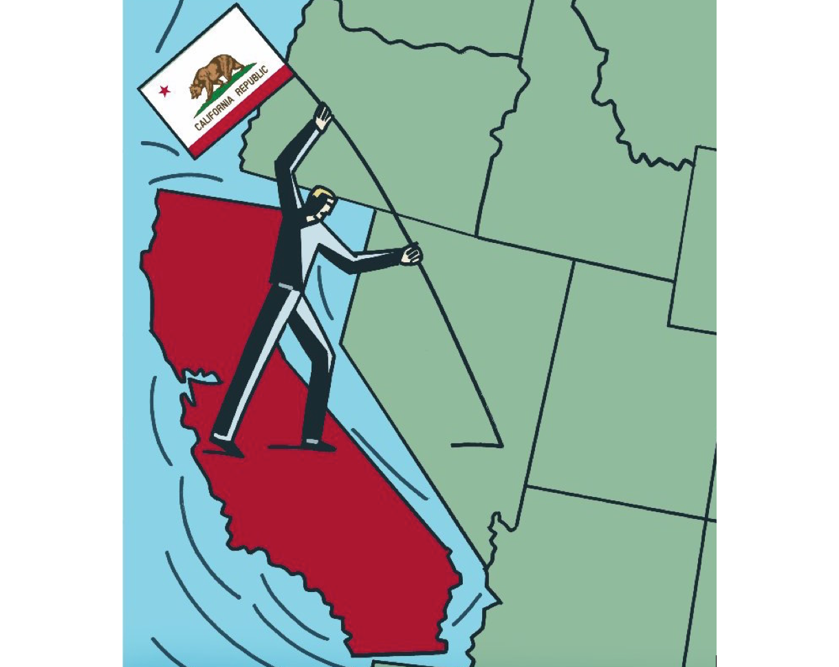 Calexit Backers Withdraw 2018 California Independence Bid