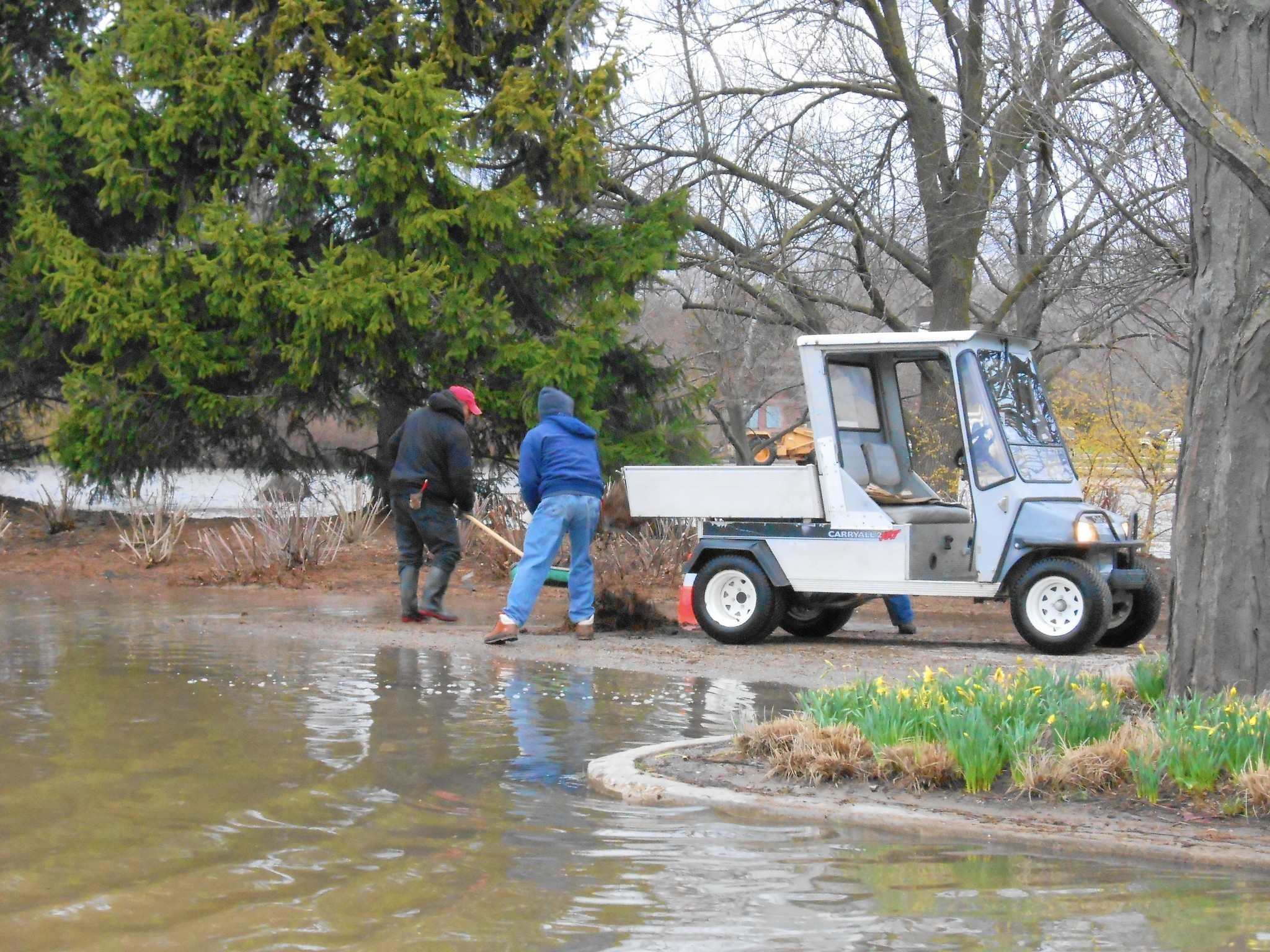 Solutions to stave off standing water for gardens with for Poor drainage solutions