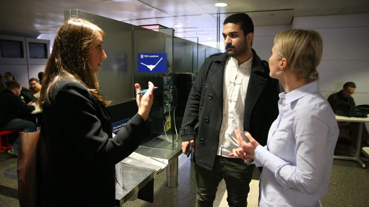 Attorneys assisting family of detainees at O'Hare