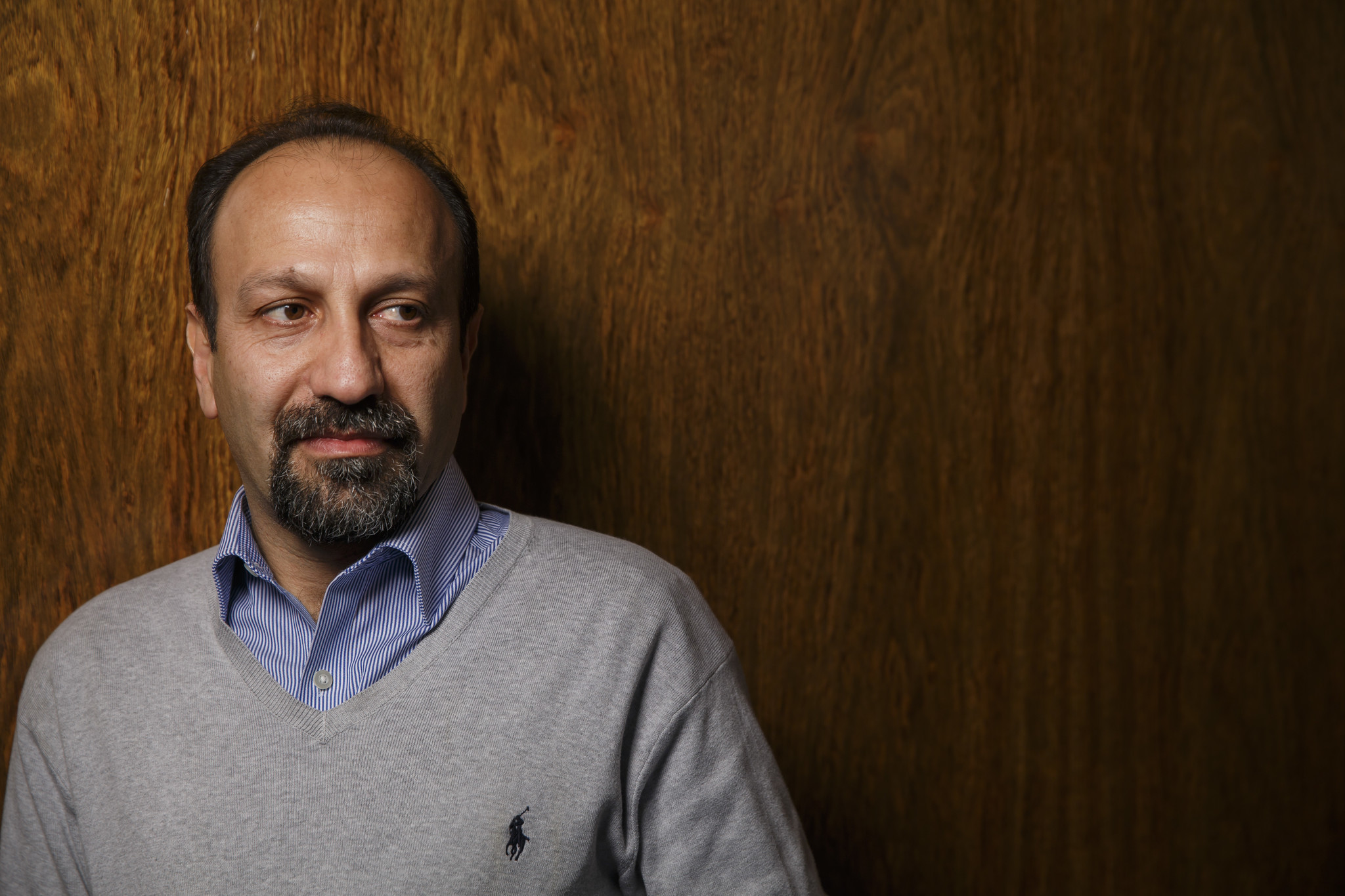 Iranian filmmaker Asghar Farhadi in Los Angeles in early 2017. (Marcus Yam / Los Angeles Times)