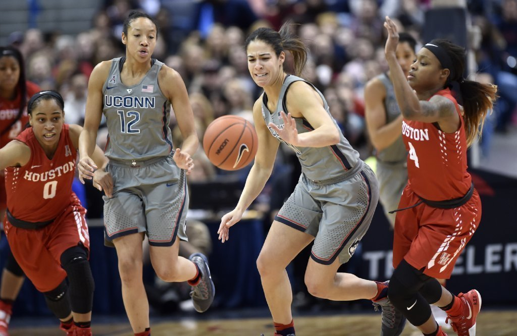 Gabby Williams Shakes UConn From Sleepy Start - Hartford ...