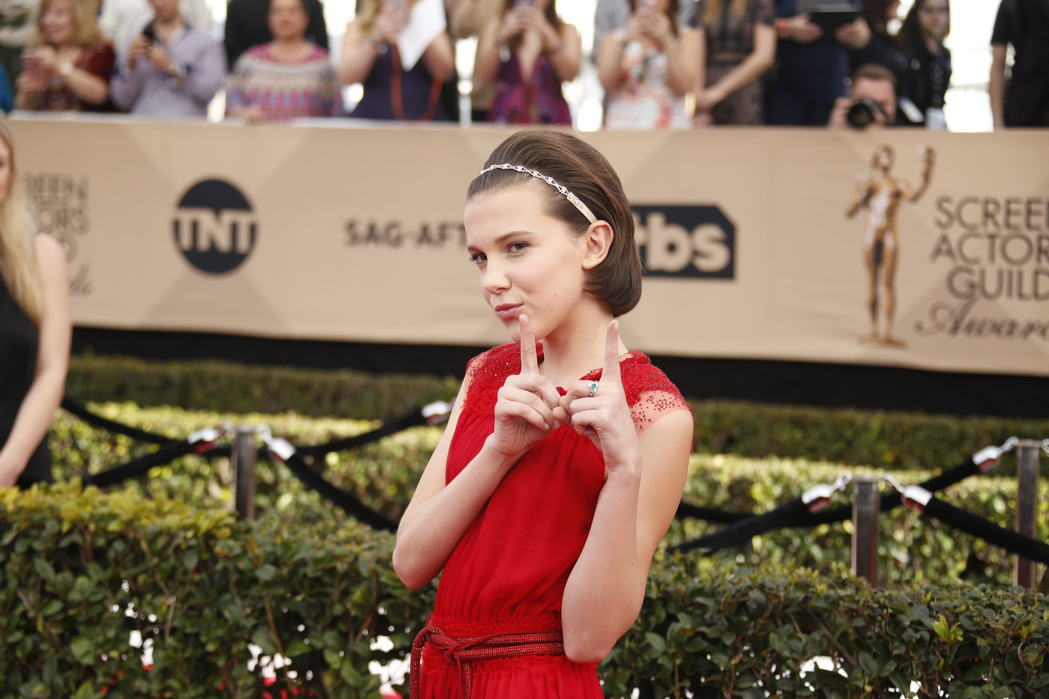 Millie Bobby Brown. (Mark Boster / Los Angeles Times)