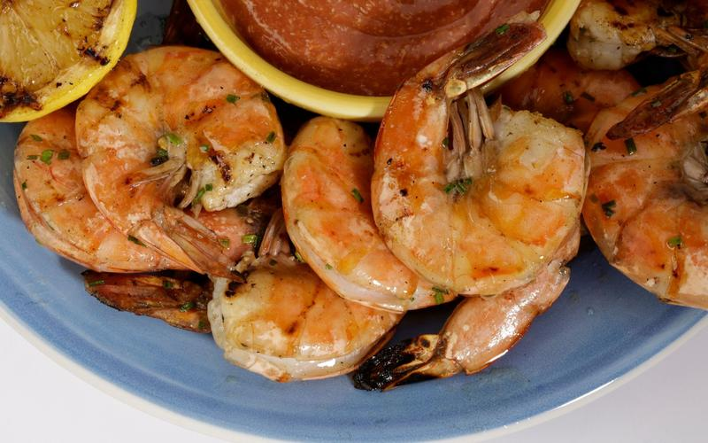 Recipe: Grilled shrimp cocktail - California Cookbook