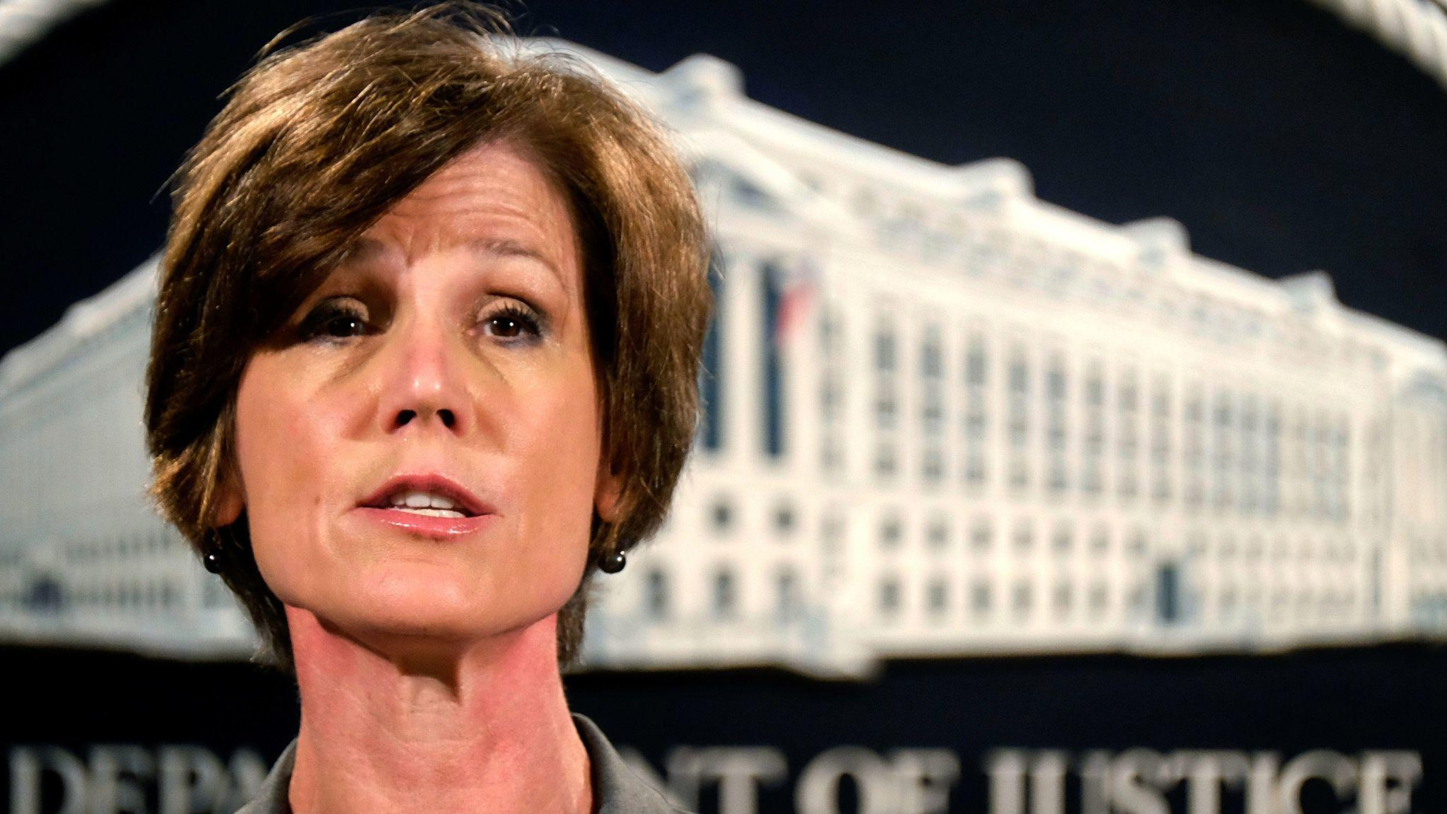 Sally Yates. (J. David Ake / Associated Press)