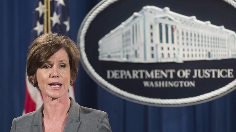 Sally Yates (Saul Loeb / AFP-Getty Images)