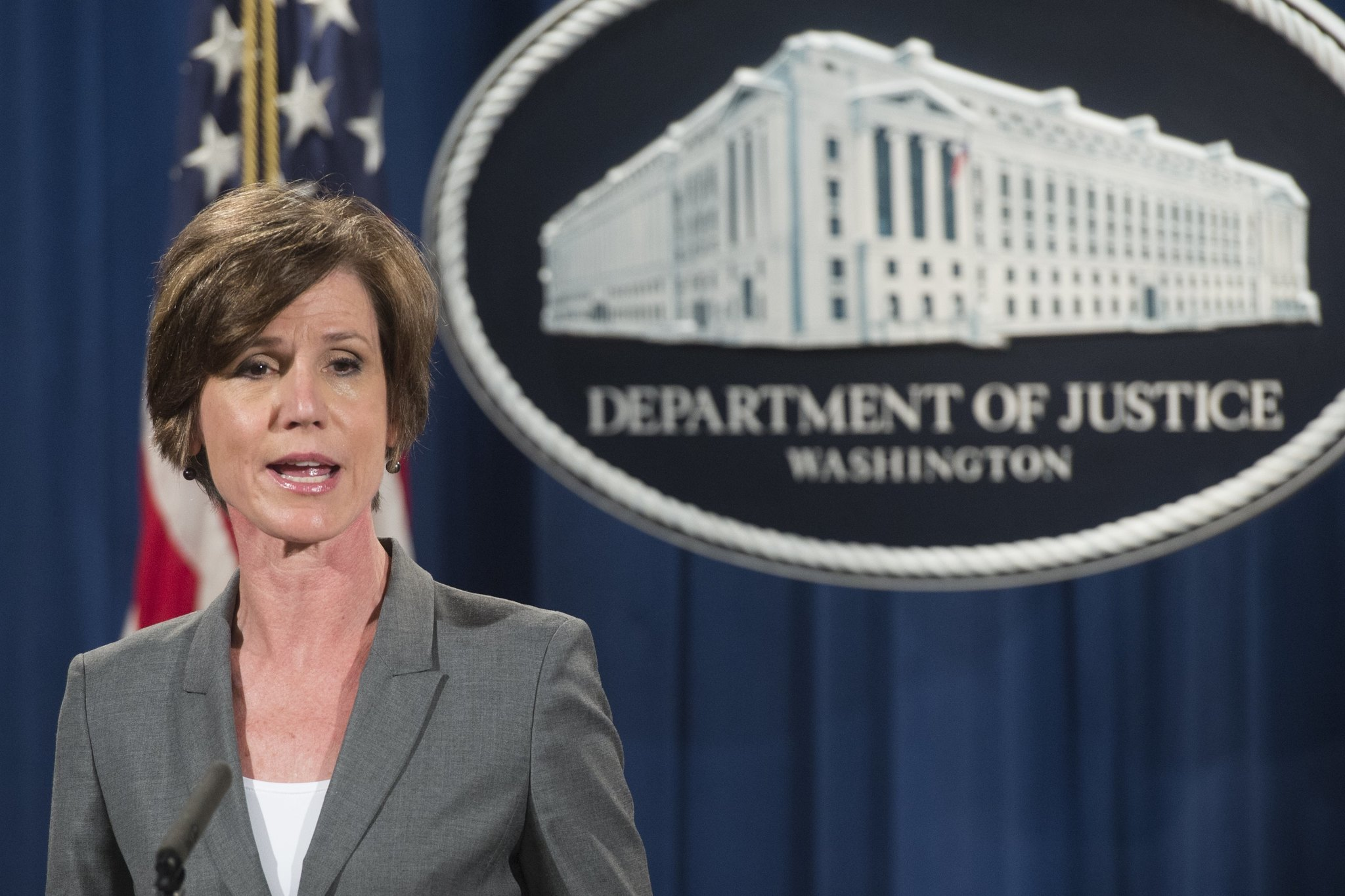 fireworks at the justice department trump fires acting attorney general sally yates chicago. Black Bedroom Furniture Sets. Home Design Ideas