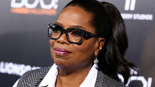 Oprah Winfrey  in Los Angeles on Oct. 17. (John Salangsang / Associated Press)