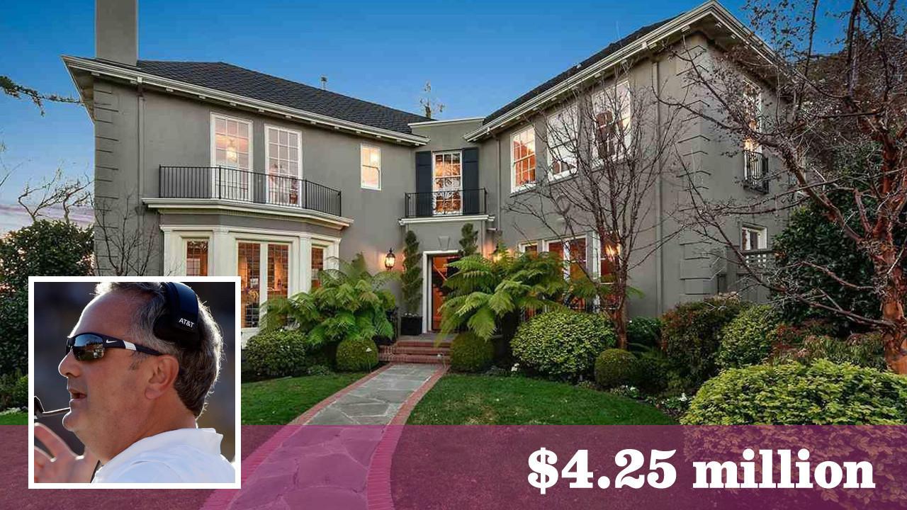 Former Cal football coach Sonny Dykes lists Piedmont home for ...