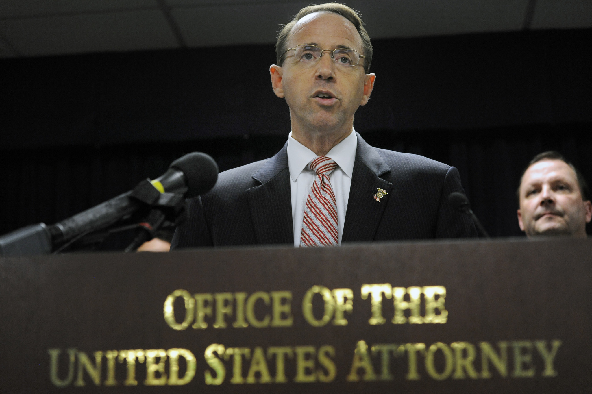 Image result for PHOTO OF ROD ROSENSTEIN