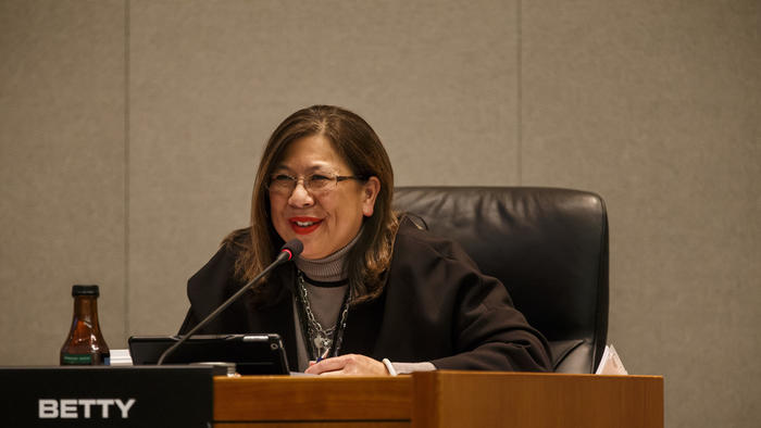 State Controller Betty Yee (Marcus Yam / Los Angeles Times)