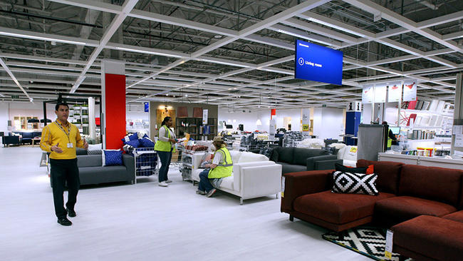 Furniture ikea store home design for Furniture stores in the states