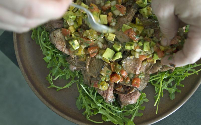 Tim Hollingsworth's tri-tip salad