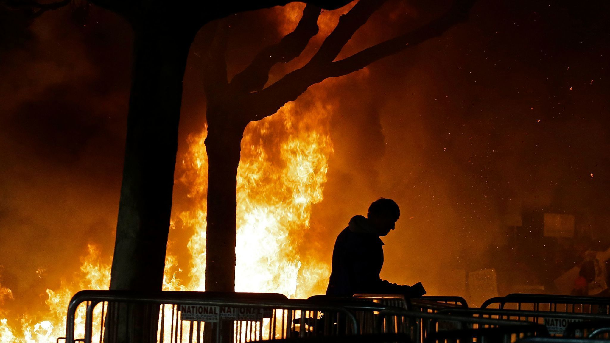 Image result for Violent protests force cancellation of speech by Breitbart's Milo Yiannopoulos at Berkeley