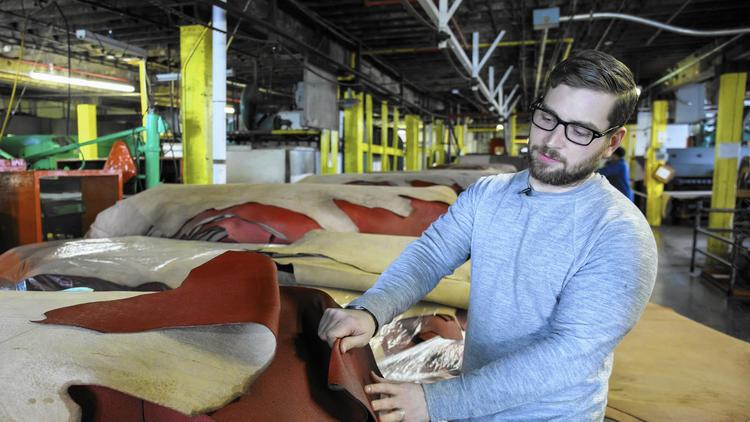 Chicago's in the Super Bowl: Local firms team up to make big game's footballs – Chicago Tribune