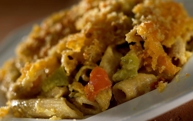 Green chile mac and cheese