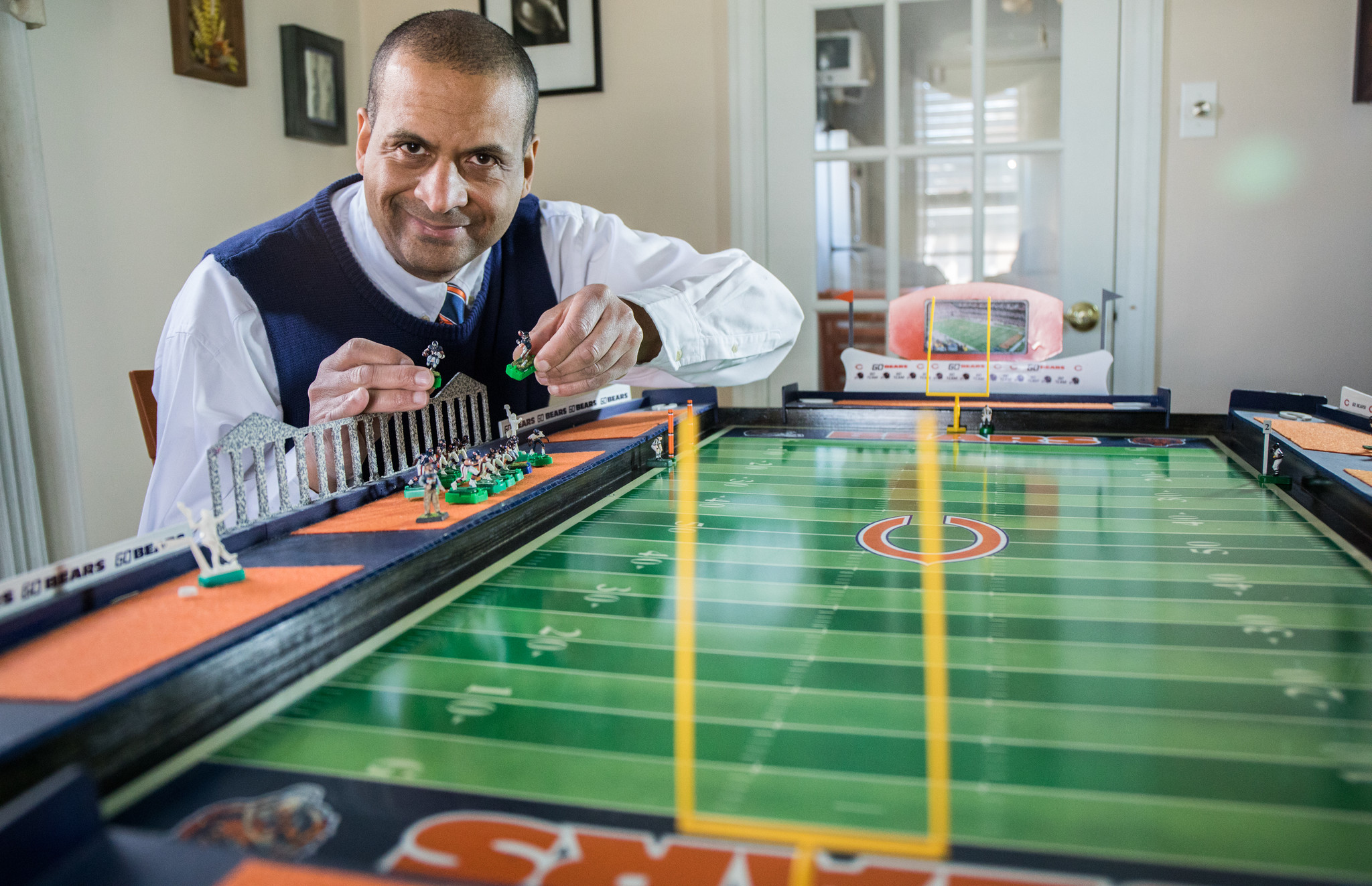 For Electric Football Fans The Buzz Never Faded Chicago
