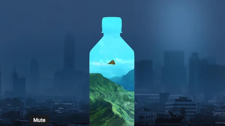 Video: FIJI Water Super Bowl ad