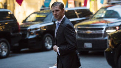 Eric Trump's business trip to Uruguay cost taxpayers $97,830 in hotel bills