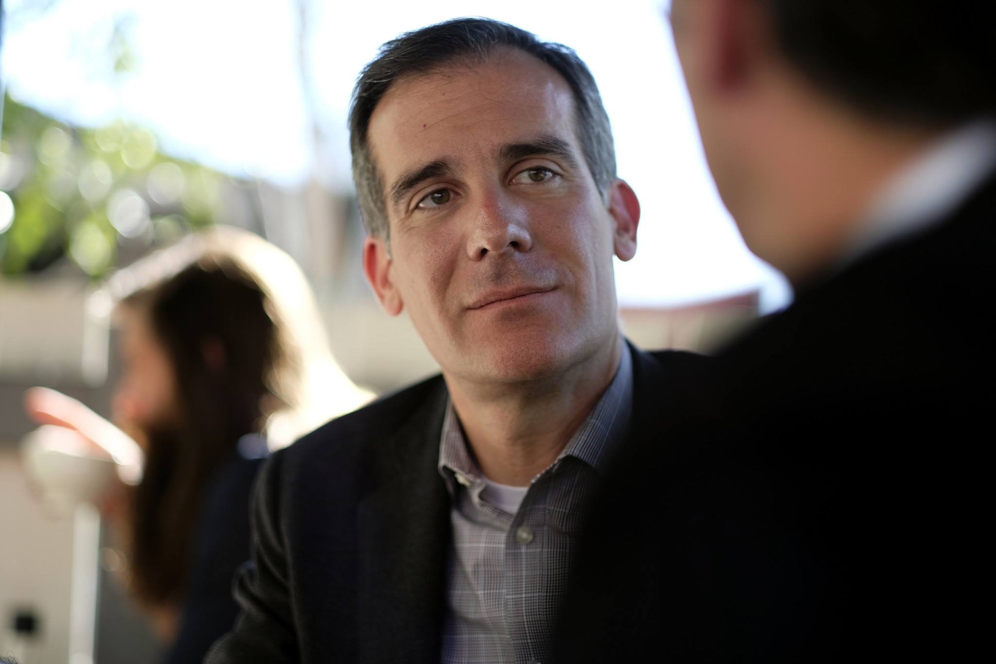Los Angeles Mayor Eric Garcetti. (Los Angeles Times)