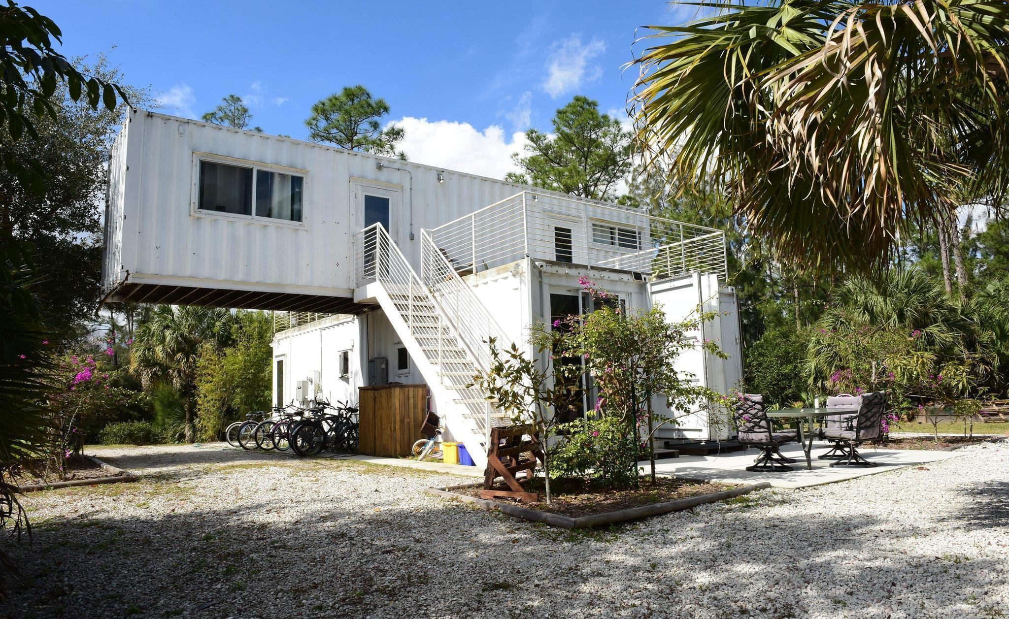 Superior Shipping Containers Taking On New Life As Homes And Businesses   Sun  Sentinel