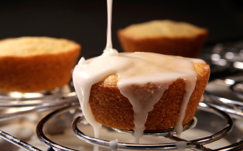 Willa Jean's lemon cornmeal muffins