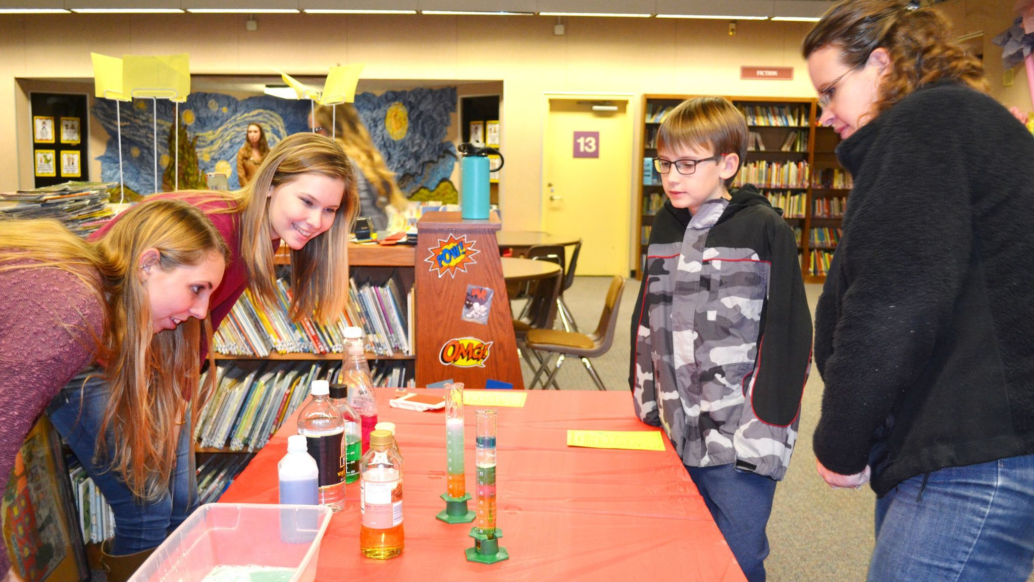High schoolers open world of science at James Dukes - The ...