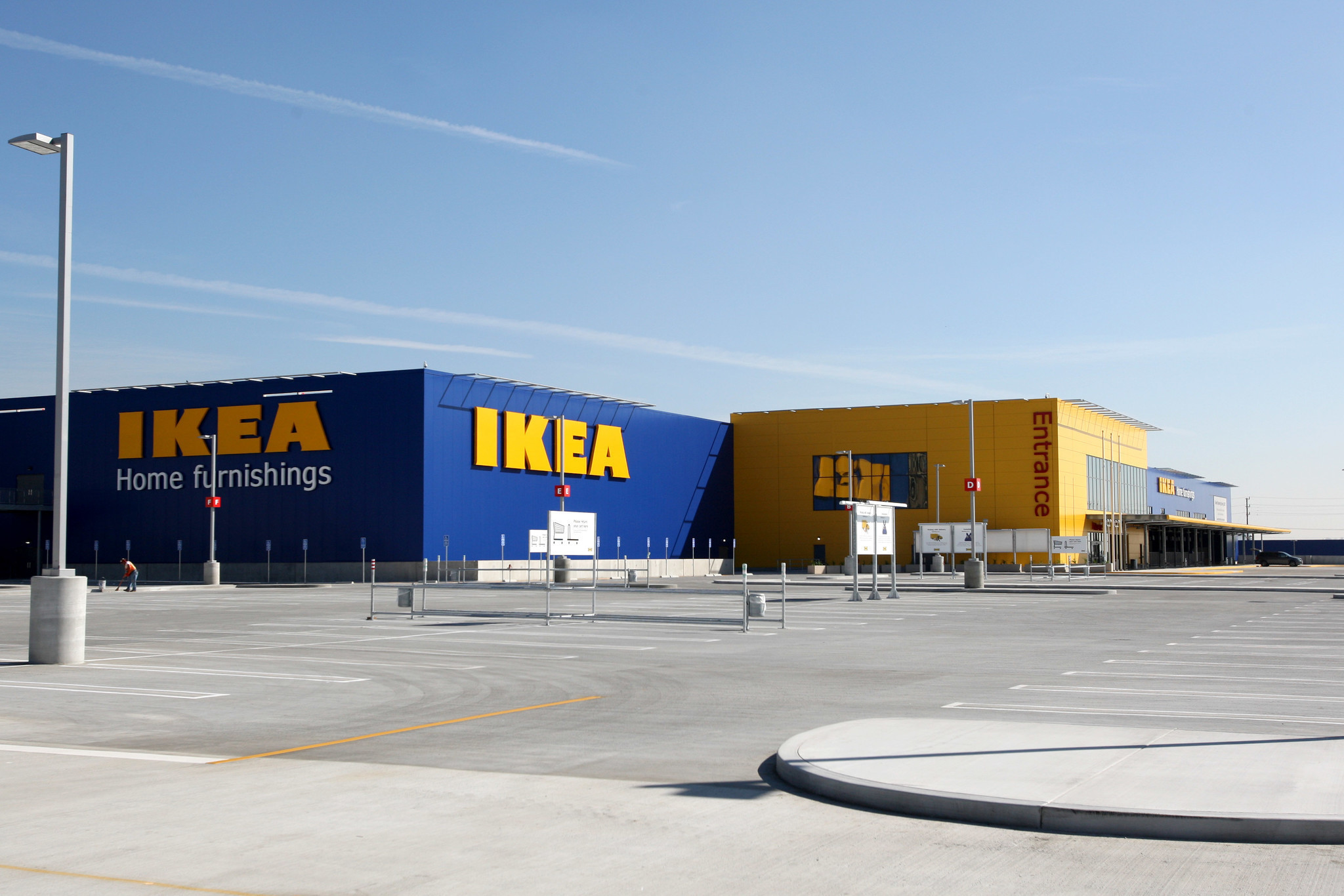ikea readies to open its largest store in america burbank leader. Black Bedroom Furniture Sets. Home Design Ideas