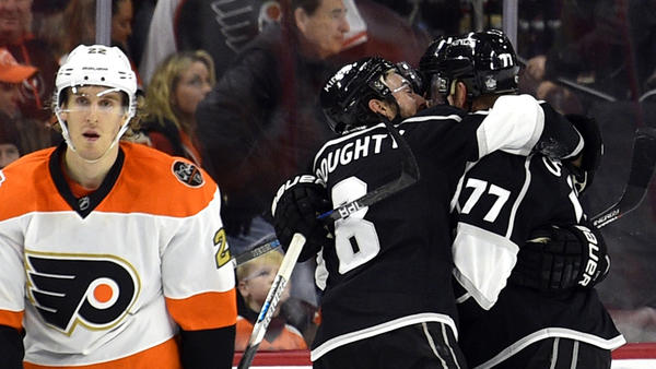 Jeff Carter Delivers In Kings' 1-0 Overtime Victory Over Flyers