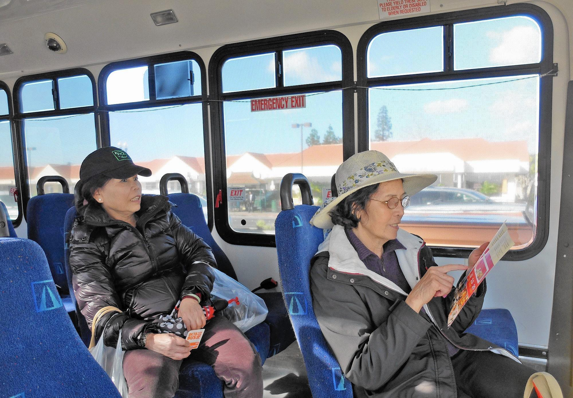 Little Saigon tries shuttles to ease congestion and boost tourism