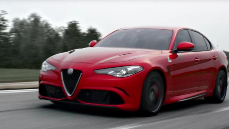 Alfa Romeo Super Bowl commercial | Riding Dragons