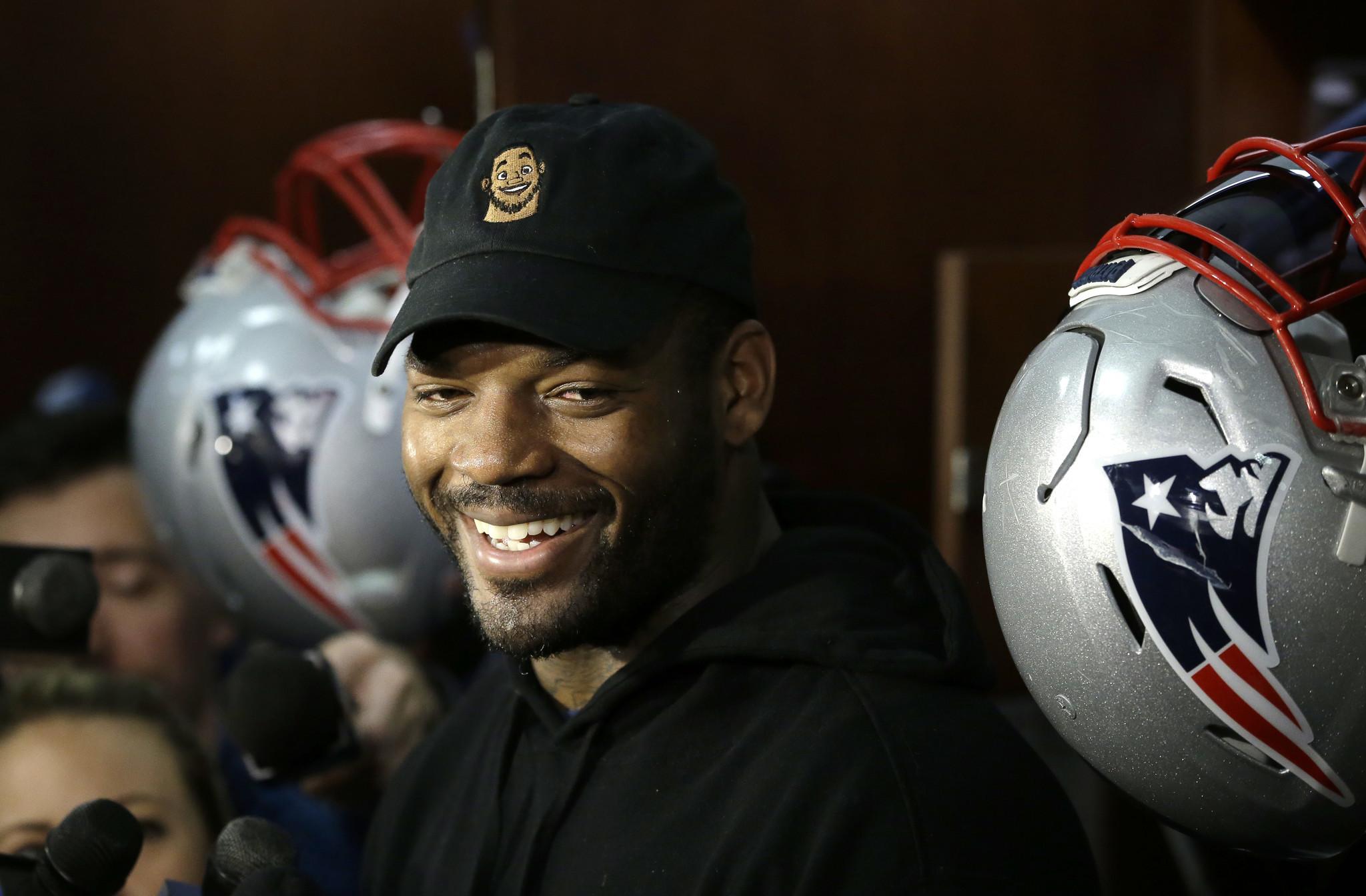 Former Bears TE Martellus Bennett foremost among Patriots free