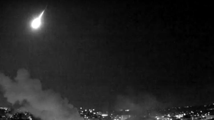 University of Wisconsin video of fireball