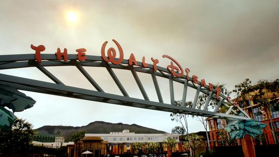 Walt Disney Co. headquarters in Burbank (Reed Saxon/AP)