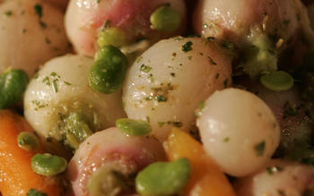 Young root-vegetable braise