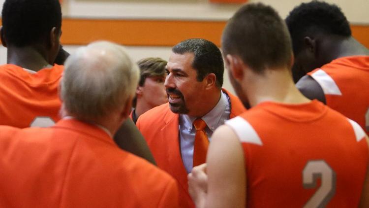 Boone coach David Martinson, center, said Jordan Morales is a lot more than just a sharpshooter.